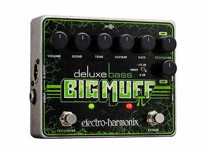 New Electro-Harmonix Deluxe Bass Big Muff Pi Distortion Sustainer Pedal EHX • 93.86£