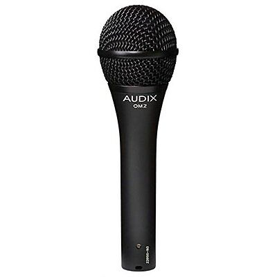 Audix OM2 - Dynamic Hypercardioid Handheld Microphone For Live Applications • 76.90£