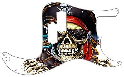 P Bass Precision Pickguard Custom Fender 13 Hole Guitar Pick Guard Pirate 1 WH • 31.19£