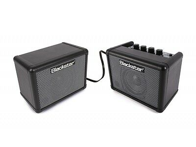 Blackstar Fly 3 Bass Stereo Pack Ampère & Extension Armoire W / OD /Comp/EQ NEUF • 86.67£
