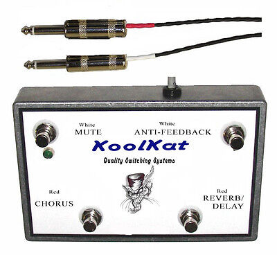 KoolKat's 4 Button Footswitch For The Roland AC-60 • 67.89£
