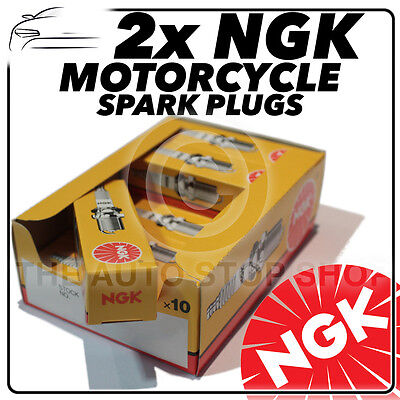 2x NGK Spark Plugs For YAMAHA  350cc RD350 (Air Cooled) 73->74 No.5510 • 4.37£