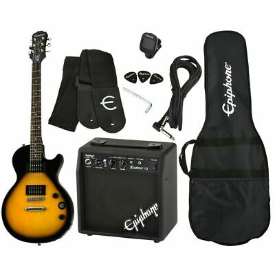 Epiphone Les Paul Special II LTD VS Player Pack - E-Gitarre - Amp - Vintage Sunb • 167.57£