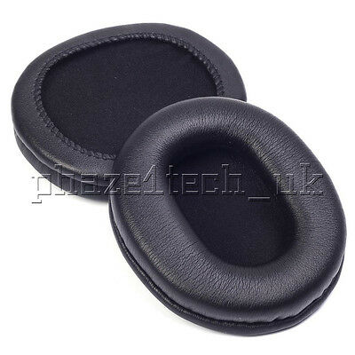Sony MDR7506 MDR-7506 V6 + PU Leather Headphone Ear Pads Approx. 75mm X 90mm • 9.99£