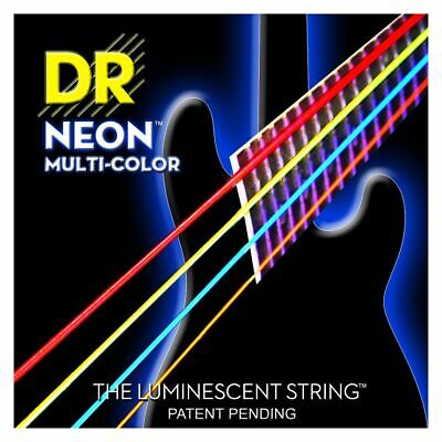 DR Hi-Def Neon Bass-Saitensatz Multi-Color 045-105 • 34.91£