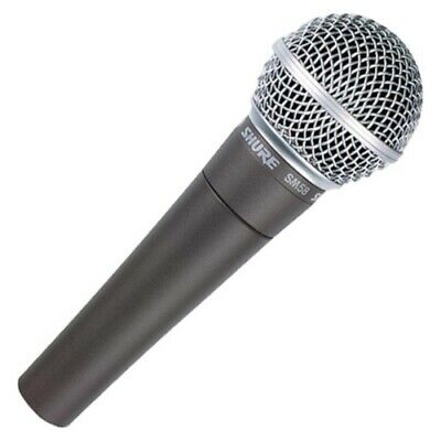 Shure SM58-LC Professional Cardioid Dynamic Live Performance Vocal Microphone • 71.62£