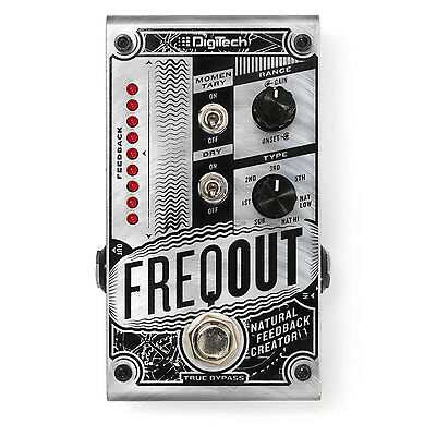 DigiTech FreqOut Natural Feedback Creator Guitar Effects Pedal • 140.25£