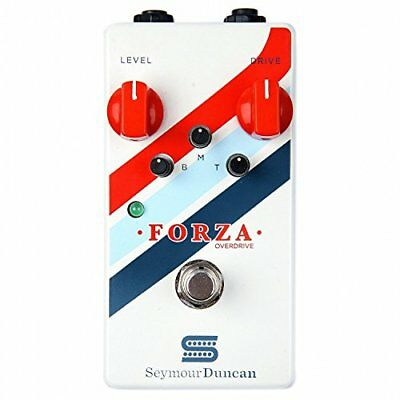Seymour Duncan Forza Overdrive True Bypass Distortion Guitar Effects Pedal 2DAY • 137.24£