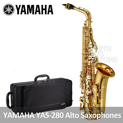YAMAHA YAS-280 Standard Alto Saxophones With Case + Mouthpiece Made In China • 821.71£