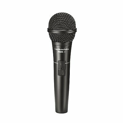 Audio-Technica PRO 41 Cardioid Dynamic Handheld Microphone FREE 2DAY SHIP • 45.83£