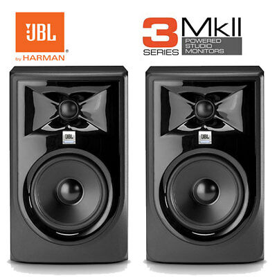 JBL 305P MKII 5  JBL Pro Active Studio Monitor Speakers Pair HARMAN LSR305P  • 337£