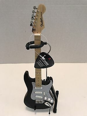 Fender Stratocaster Black Distress Mini Guitar By Axe Heaven Officially Licensed • 22.83£