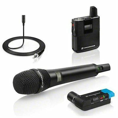 Sennheiser AVX Digital Wireless Microphone System - ME2 / 835 Combo Set NEW! • 718.19£