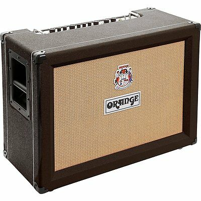 Orange Amplifiers Crush Pro CR120C 120W 2x12 Guitar Combo Amp Black NEW • 550.20£