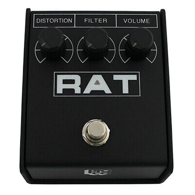 Pro Co Rat 2 Distortion Fuzz Overdrive Sustain Guitar Effects Pedal • 54£