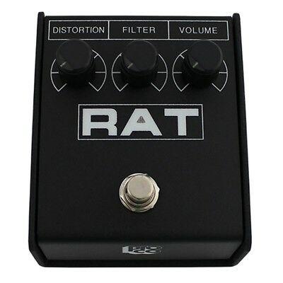 Pro Co Rat 2 Distortion Fuzz Overdrive Sustain Guitar Effects Pedal