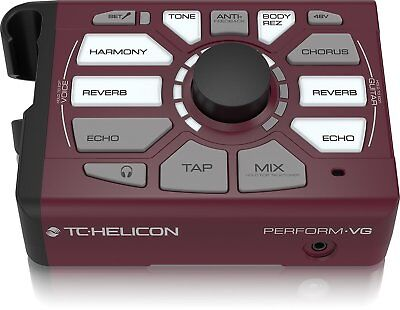 TC Helicon Perform‑VG Vocal Acoustic Guitar USB Harmony Generator Processor 2DAY • 153.89£