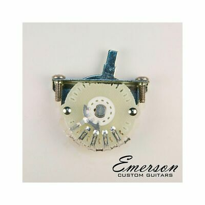Emerson Custom 4-Way Lever Switch Made By Oak Grigsby • 15.39£