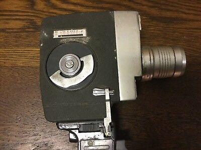 Old Rare RUBICA ZOOM R8 -SEIKO F=12-32 1:1.8- Pistol Grip Vintage Movie Camera • 22.60£