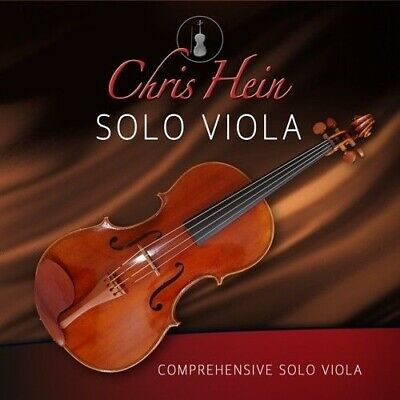 New Best Service Chris Hein Solo Viola AAX AU NKS RTAS VSTs For Mac/PC • 138.11£