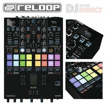 Reloop Elite Professional 2-Channel USB Serato DVS DJ Club Mixer With Effects • 1,099£