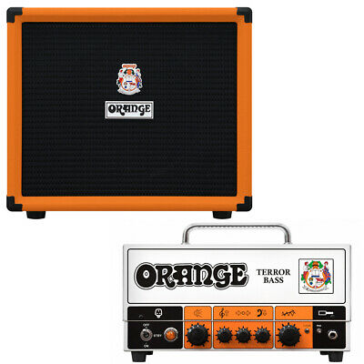Orange Amps Terror 500w Bass Head W/ Orange OBC112 1x12'' Bass Cab • 938.88£