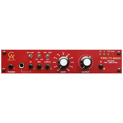 Golden Age Project PRE-73 MKiii Vintage Style Preamp W/ High Pass Filter • 270.75£