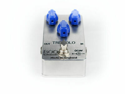 Tremolo Pedal Boutique True Bypass BOO Instruments Made In England