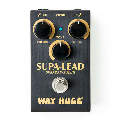 Dunlop Way Huge Smalls Supa Lead Overdrive MKIII Guitar Effects Pedal • 105.14£