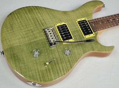 2018 PRS SE Custom 24 Electric Guitar W/ Gig Bag, Trampas Green, NEW! #ISS3332 • 596.11£