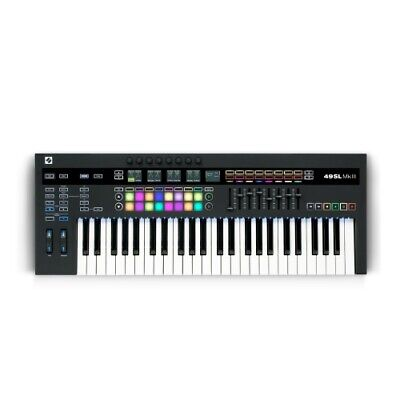 Novation 49SL Mkiii MIDI & CV Equipped Keyboard Controller w/ 8 Track Sequencer