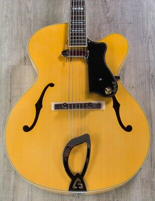 Guild A-150 Savoy Hollowbody Archtop Electric Guitar W/ Case, Blonde (Open Box) • 761.62£