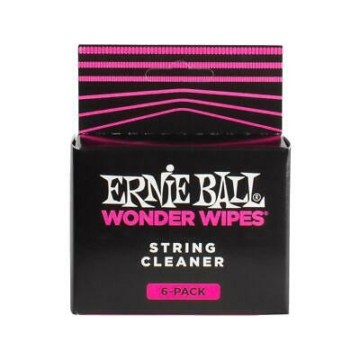 Ernie Ball - Wonder Wipes - String Cleaner - Includes 6 Wipes - 4277 • 7.29£