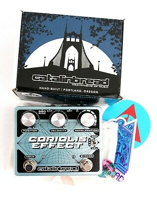 Catalinbread® CORIOLIS™ EFFECT, SUSTAINER, WAH, PITCH SHIFTER, Guitar Pedal USED • 124.87£