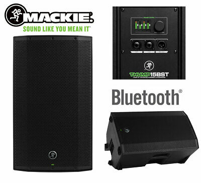 Mackie Thump 15BST 15  1300W Active Powered Bluetooth Wireless Speaker DJ Stage • 424.99£