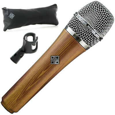 Telefunken M80 Custom Oak Finish Dynamic Series Cardioid Microphone • 222.67£