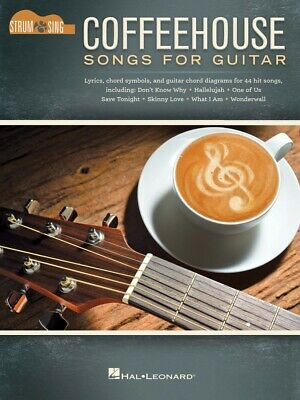 Coffeehouse Songs For Guitar Sheet Music Strum And Sing Guitar Book 000285991 • 9.62£