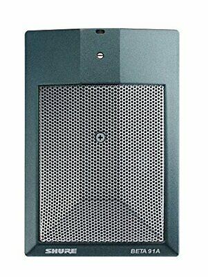Condenser Microphone Shure BETA 91A Lo Z Boundary Cardioid Drum Mic BETA91A New • 299.85£
