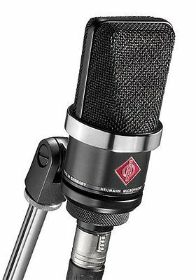 Neumann TLM-102 Large Diaphragm Studio Condenser Microphone (Studio Set, Black) • 593.74£