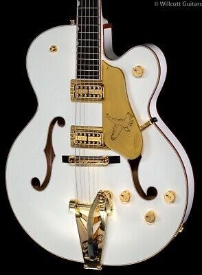Gretsch G6136T-WHT Players Edition White Falcon Bigsby (768) • 2,724.76£