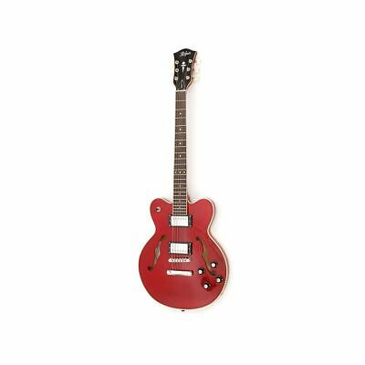Höfner   CT   Very Thin Deluxe E-Guitar In Transparent Red • 492.07£