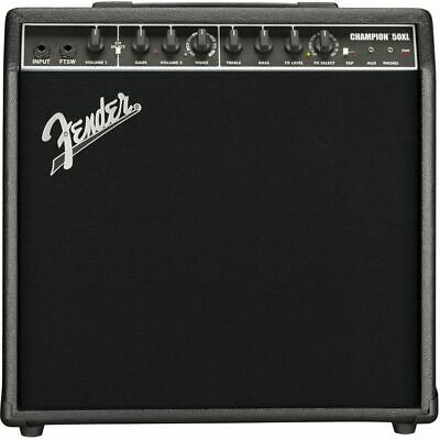 Fender Champion 50 XL - Amplifier For Electric Guitar • 199.43£