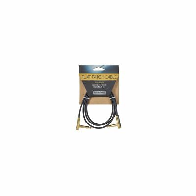 Rockboard Gold Flat Patch Cable 100 CM - Patchkabel With Flattened Plugs • 10.33£