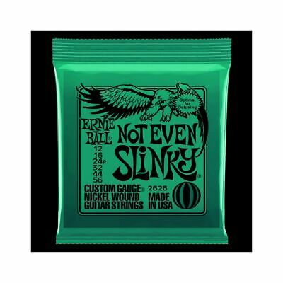 Ernie Ball EB2626 012-056 Not Even Slinky - String Set For Electric Guitar • 7.73£