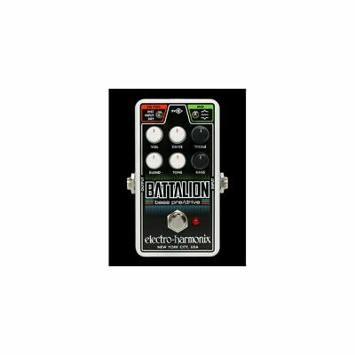 Electro-harmonix Nano Battalion - Bass Effects Pedal • 100.33£