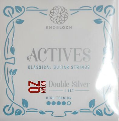 Knobloch-strings 500ADQ Actives Double Silver Qz Nylon, High Tension • 15.30£