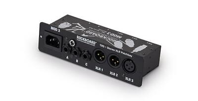 ROCKBOARD Model 3 V2 - Aio Trs & XLR Patch Bay For Vocalists & Acoustic Players