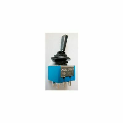 Goeldo EL011 Mini Switch With Flat Lever, On/On ,6Pins,Black • 12.45£