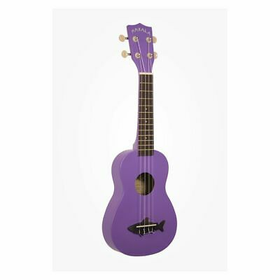 Makala Shark In Sea Urchin Purple Incl. Bag - Soprano Ukulele • 49.22£