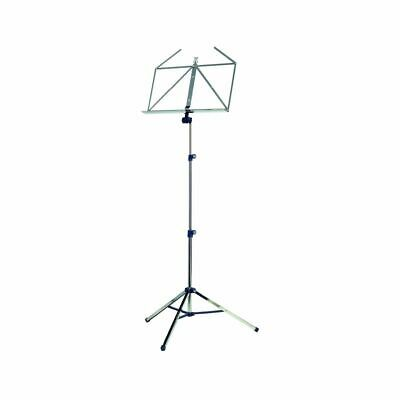 K&M 10065 Music Stand Nickel Plated